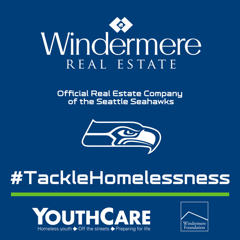 Seattle Seahawks Tackle Homelessness Campaign